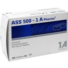 ASS 500 1A Pharma Tabletten 100 St