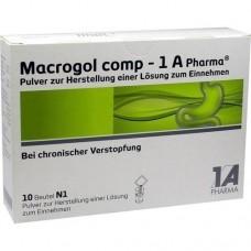MACROGOL comp 1A Pharma Plv.z.Her.e.Lsg.z.Einn. 10 St