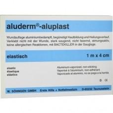 ALUDERM aluplast Wundverb.Pfl.4 cmx1 m elast. 1 St
