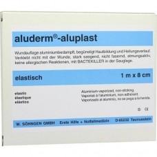 ALUDERM aluplast Wundverb.Pfl.8 cmx1 m elast. 1 St