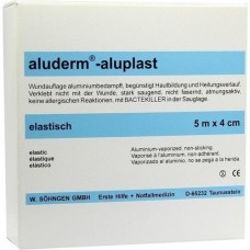 ALUDERM aluplast Wundverb.Pfl.4 cmx5 m elast. 1 St