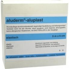 ALUDERM aluplast Wundverb.Pfl.6 cmx5 m elast. 1 St
