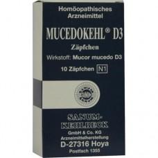 MUCEDOKEHL D 3 Suppositorien 10 St