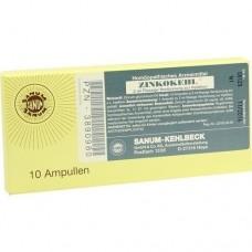 ZINKOKEHL Ampullen D 4 10X2 ml