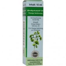 GINKGOBAKEHL D 4 Tropfen 10 ml