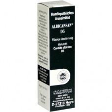 ALBICANSAN D 5 Tropfen 10 ml