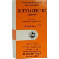 QUENTAKEHL D 3 Suppositorien 10 St