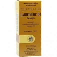 LARIFIKEHL Kapseln D 4 20 St