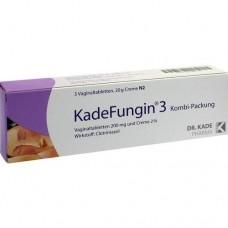 KADEFUNGIN 3 Kombip.20 g Creme+3 Vaginaltabl. 1 St