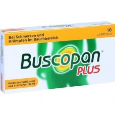 BUSCOPAN plus Suppositorien 10 St