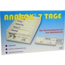ANABOX 7 Tage Wochendosierer weiß 1 St