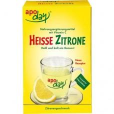APODAY heiße Zitrone Vit.C Pulver 10X10 g