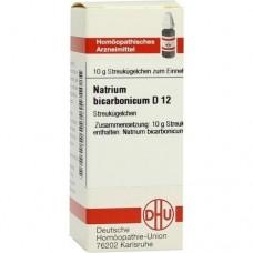 NATRIUM BICARBONICUM D 12 Globuli 10 g