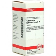 YOHIMBINUM HYDROCHLORICUM D 4 Tabletten 80 St
