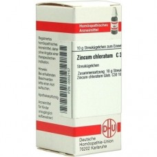 ZINCUM CHLORATUM C 30 Globuli 10 g