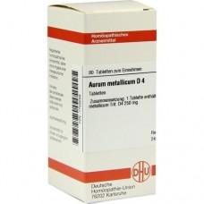 AURUM METALLICUM D 4 Tabletten 80 St