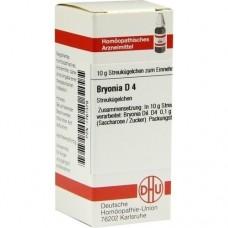 BRYONIA D 4 Globuli 10 g