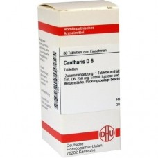 CANTHARIS D 6 Tabletten 80 St