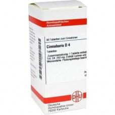 CINNABARIS D 4 Tabletten 80 St
