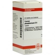 FERRUM PHOSPHORICUM D 6 Tabletten 80 St