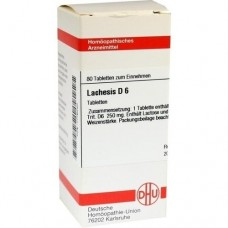 LACHESIS D 6 Tabletten 80 St