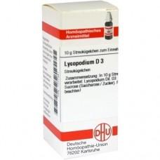 LYCOPODIUM D 3 Globuli 10 g