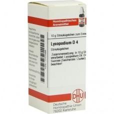 LYCOPODIUM D 4 Globuli 10 g