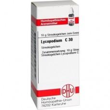 LYCOPODIUM C 30 Globuli 10 g