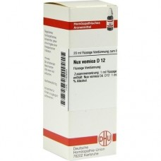 NUX VOMICA D 12 Dilution 20 ml