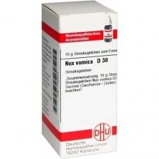 NUX VOMICA D 30 Globuli 10 g