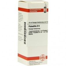 PULSATILLA D 6 Dilution 20 ml