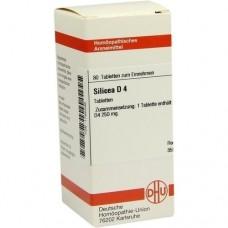 SILICEA D 4 Tabletten 80 St