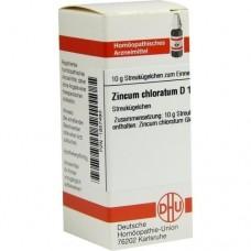 ZINCUM CHLORATUM D 12 Globuli 10 g
