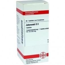 JABORANDI D 3 Tabletten 80 St