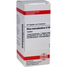 RHUS TOXICODENDRON D 30 Tabletten 80 St