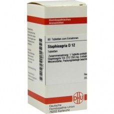 STAPHISAGRIA D 12 Tabletten 80 St