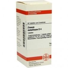 ZINCUM METALLICUM D 4 Tabletten 80 St