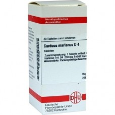 CARDUUS MARIANUS D 4 Tabletten 80 St