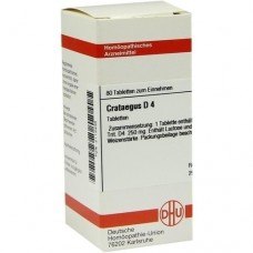CRATAEGUS D 4 Tabletten 80 St