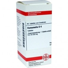 HAMAMELIS D 4 Tabletten 80 St
