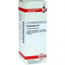 HAMAMELIS D 6 Dilution 20 ml