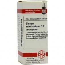 ZINCUM VALERIANICUM D 6 Globuli 10 g