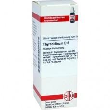 THYREOIDINUM D 6 Dilution 20 ml