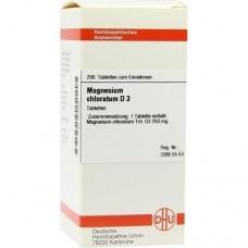 MAGNESIUM CHLORATUM D 3 Tabletten 200 St