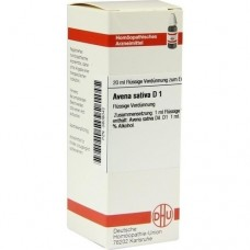 AVENA SATIVA D 1 Dilution 20 ml