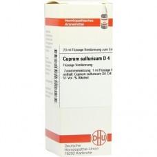CUPRUM SULFURICUM D 4 Dilution 20 ml