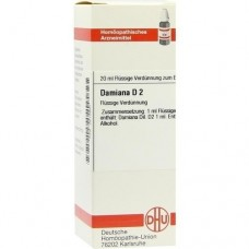 DAMIANA D 2 Dilution 20 ml