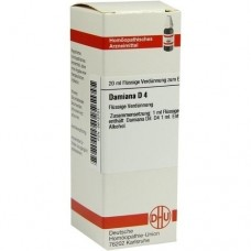 DAMIANA D 4 Dilution 20 ml