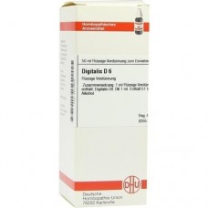 DIGITALIS D 6 Dilution 50 ml