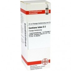 GENTIANA LUTEA D 2 Dilution 20 ml